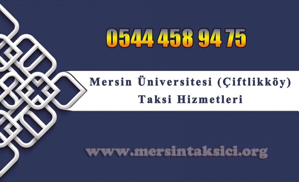Mersin Üniversite Taksi (Üniversite Caddesi, Çiftlikköy)