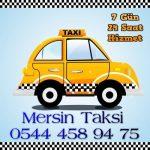 mersin üniversite caddesi taksi hizmetleri
